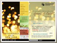 Church web design services