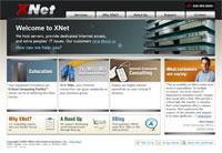 Technology brochure web design